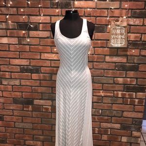Lauren Conrad Maxi Dress Cotton Soft Pretty Patter